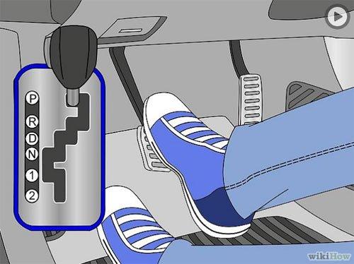 Các bước cơ bản để lái xe số tự động an toàn 10