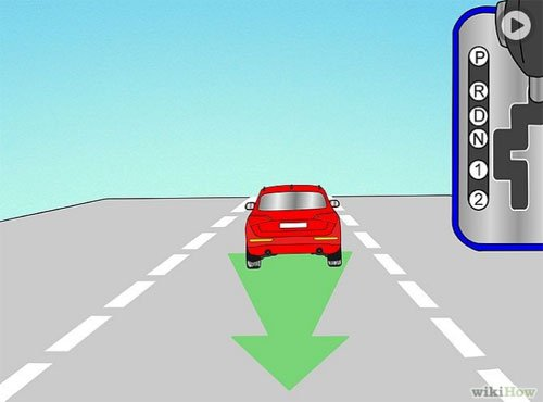 Các bước lái xe số tự động an toàn 11