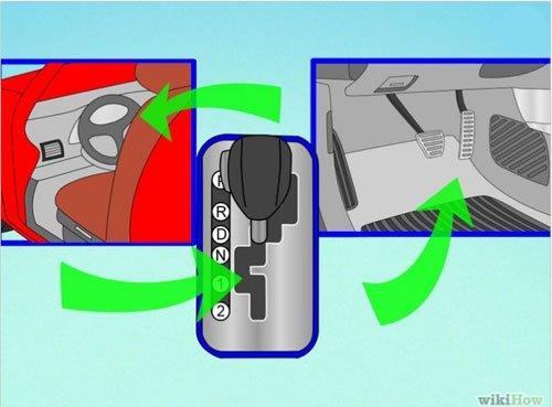 Các bước cơ bản để lái xe số tự động an toàn 2