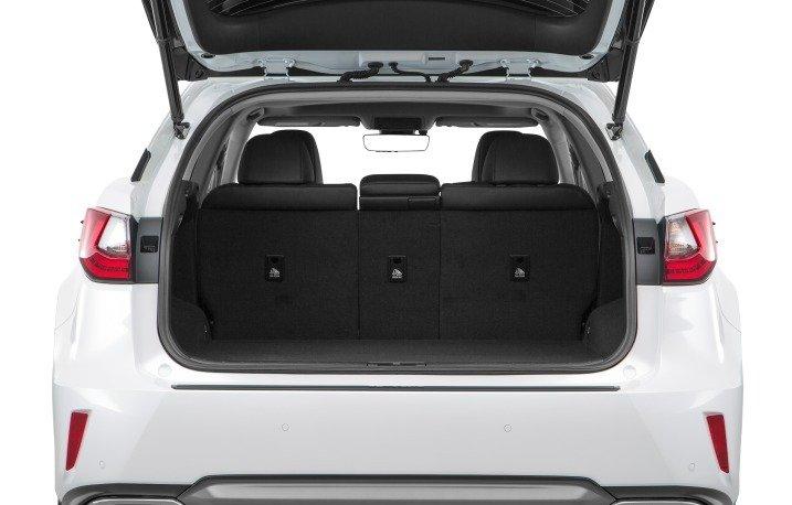 Đánh giá xe Lexus RX350 2016: Không gian hành lý rộng rãi, tiện dụng.