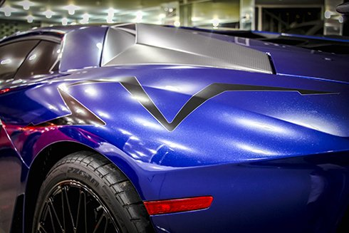 Chiêm ngưỡng Lamborghini Aventador SV màu xanh độc nhất tại Việt Nam 11