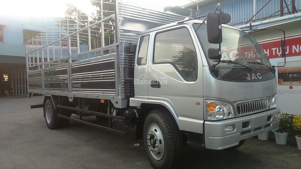 Cần bán xe tải Jac 8.5 tấn/8T5/8.5T/8,5 tấn thùng dài 7m3, công nghệ Isuzu Nhật Bản, bảo hành 3 năm
