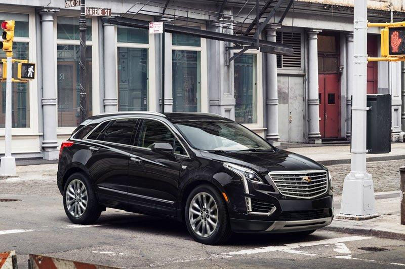 Cadillac XT5 2017.
