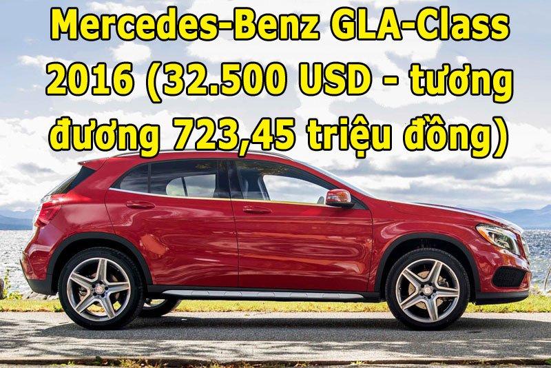 Mercedes-Benz GLA-Class 2016.