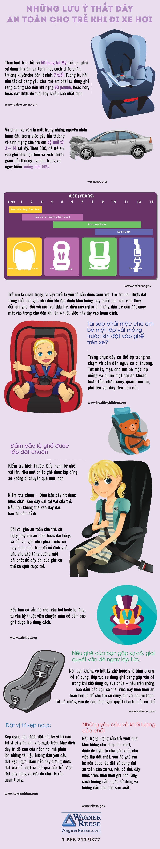 Một số lưu ý sống còn khi thắt dây an toàn cho trẻ em.