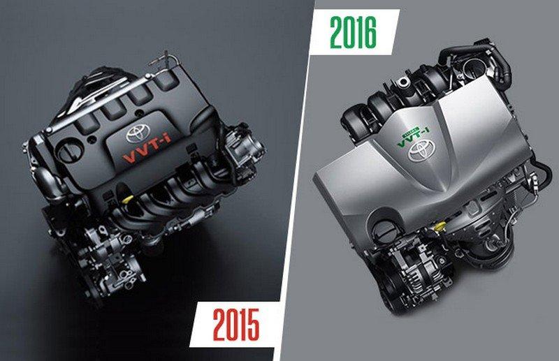 Toyota Vios facelift mới được nâng cấp động cơ và hộp số CVT.