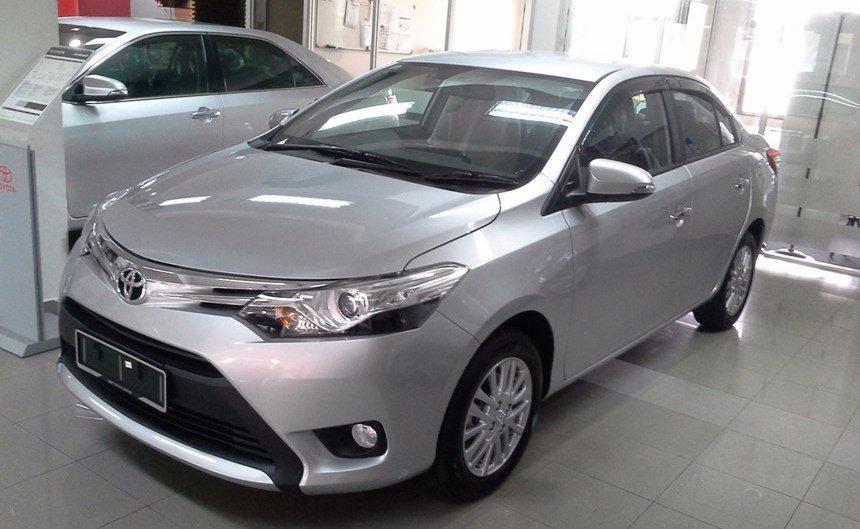 Toyota Vios chuẩn bị có bản nâng cấp mới,