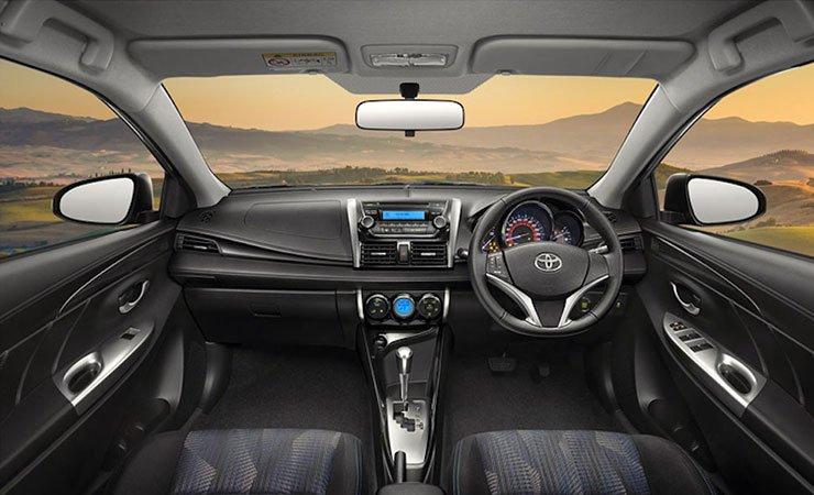 Toyota Vios 2016 sẽ được trang bị hệ thống ổn định thân xe điện tử VSC.