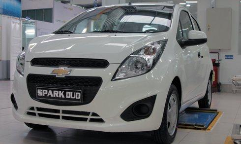 Ngắm Chevrolet Spark Duo 2016 chỉ 280 triệu tại Việt Nam.