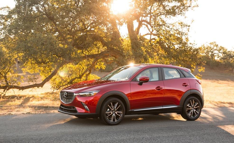 Điểm nhấn của Mazda CX-3 là động cơ dung tích lớn.