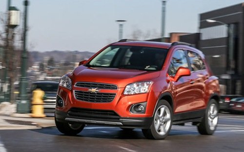 """Chevrolet Trax được dự báo sẽ khiến Ford EcoSport và Hyunda i20 Active phải """"đau đầu""""."""