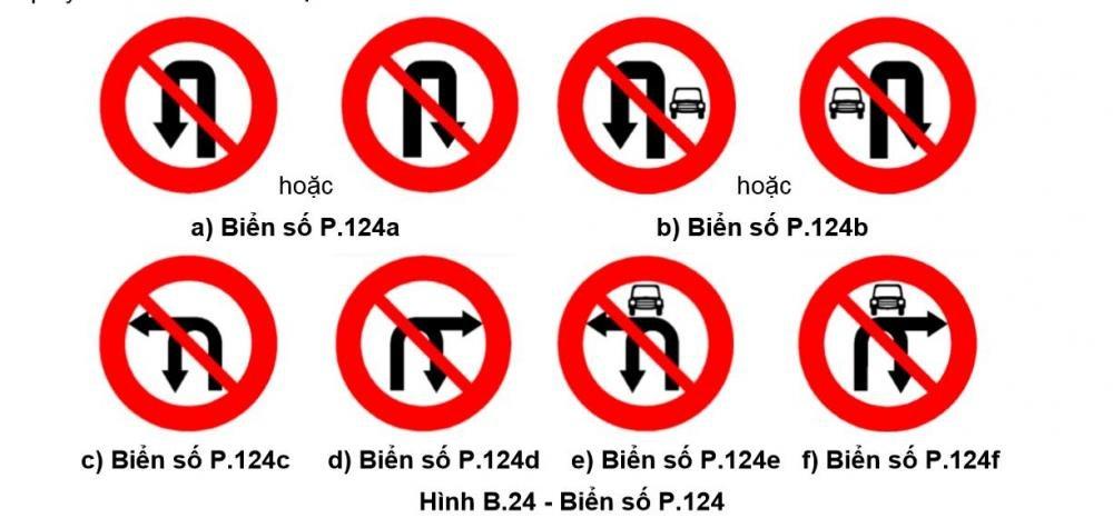 Từ ngày 1/11: Áp dụng biển báo giao thông cấm rẽ và quay đầu xe mới.