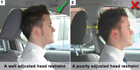 Khoảng cách giữa gối và đầu cũng là điều rất cần lưu ý.