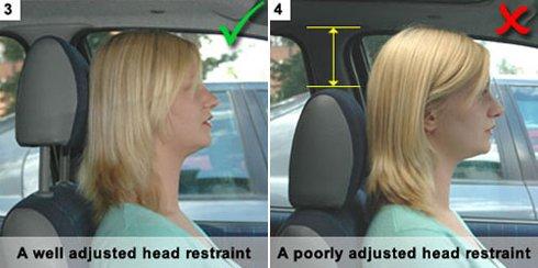 Gối tựa đầu cần được điều chỉnh sao cho đầu của khách luôn tỳ vào gối mềm.