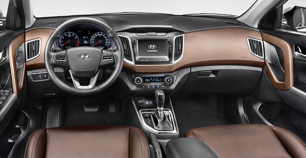 Nội thất của Hyundai Creta 2017 không có quá nhiều thay đổi.