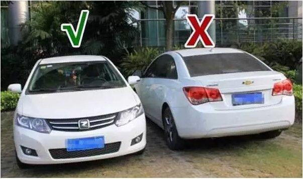5 lý do nên hướng đầu xe ô tô ra ngoài khi đỗ.