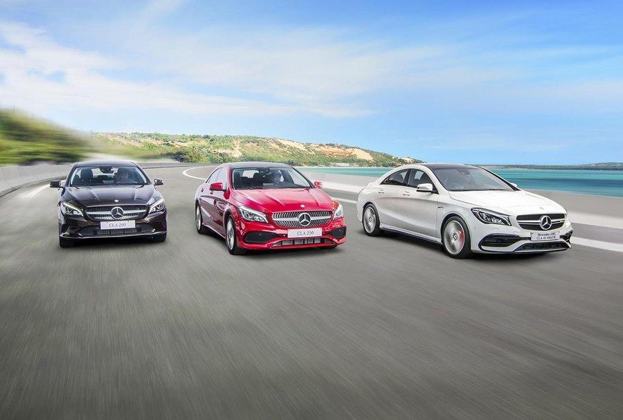 Mercedes-Benz CLA facelift mới có giá từ 1,529 tỷ Đồng tại Việt Nam.