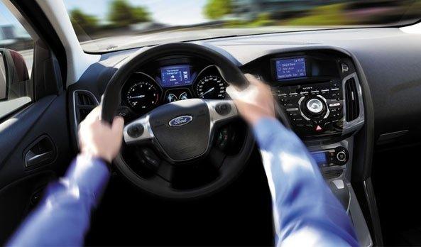 Chức năng rung vô lăng giúp cảnh báo người lái trước nguy cơ xảy ra va chạm.