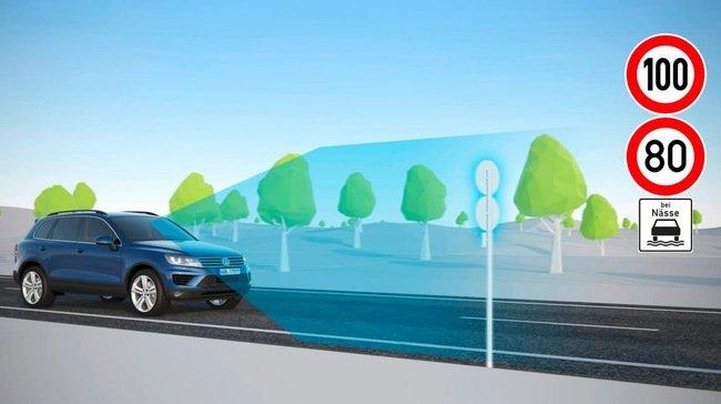 Volkswagen phát triển tính năng nhận biết biển báo giao thông