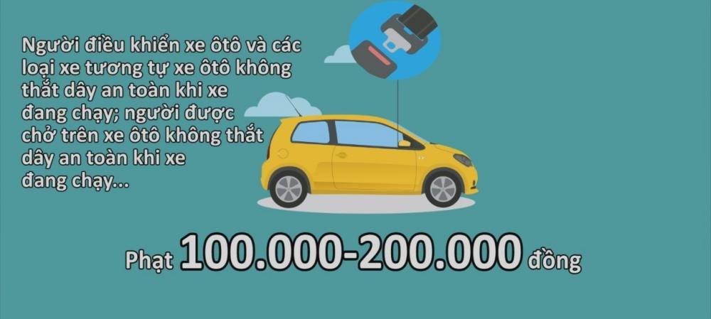 6 quy định xử phạt ô tô bắt đầu áp dụng từ 1/1/2017 7