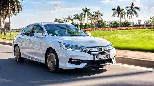 Honda Accord bản 2.4 là mẫu xe đã có giá bán giảm so với mức thuế giảm.