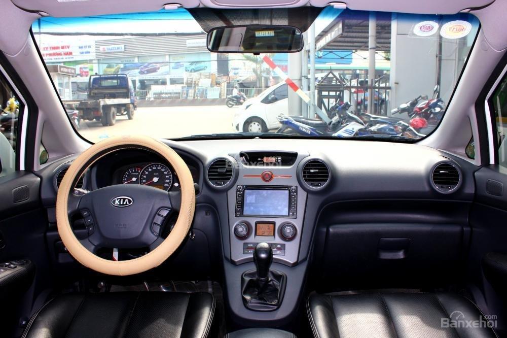 Bán Kia Carens EX 2.0MT sản xuất 2015, màu trắng, giá 525tr, 27.300km, đẹp long lanh-10