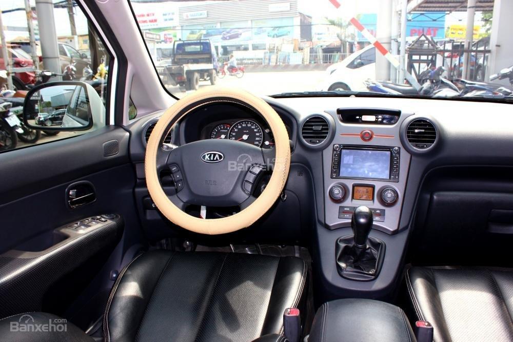 Bán Kia Carens EX 2.0MT sản xuất 2015, màu trắng, giá 525tr, 27.300km, đẹp long lanh-12
