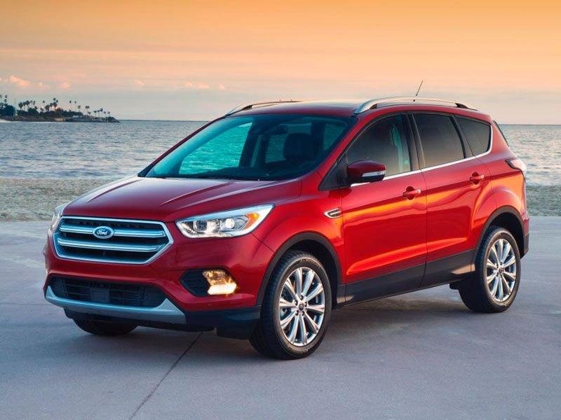 Hình ảnh mẫu Ford Escape 2017.