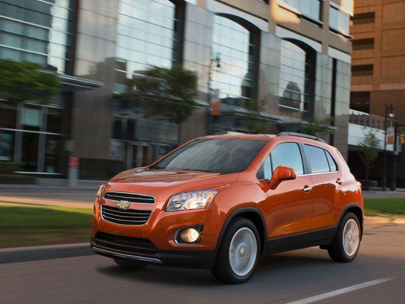 Hình ảnh mẫu Chevrolet Trax 2016.