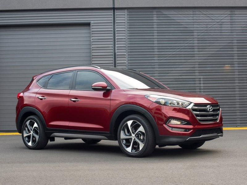 Hình ảnh mẫu Hyundai Tucson 2016.