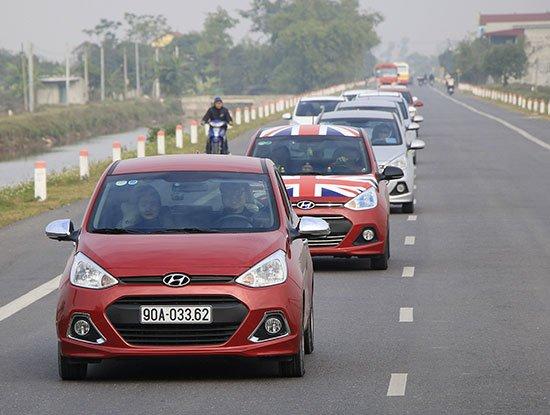 Hyundai Grand i10 tiếp tục là xe ăn khách nhất Việt Nam năm 2016.