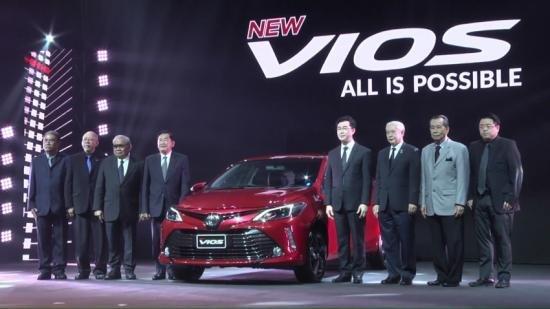 Toyota Vios 2017 chính thức trình làng tại Thái Lan, giá 17.000 USD.