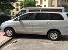 Bán Toyota Innova G đời 2010 màu bạc số sàn giá 498tr. Liên hệ 0904628617