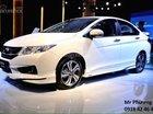 Honda City 1.5 CVT sản xuất 2017, giá tốt nhất màu trắng, giao xe tại Gia Lai