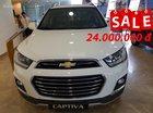 Captiva Revv - Đại lý xả hàng - Tặng 24 tr tiền mặt, lãi suất 0,66%, thời gian vay 7 năm, trả trước 170 triệu nhận xe