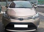 Cần bán Toyota Vios 2016 nâu vàng, xe đi ít, chính chủ dùng