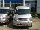 Ford Transit tiêu chuẩn 2015 màu bạc giá tốt 810 triệu