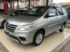 Toyota Mỹ Đình bán Innova 2.0E bạc đời 2015, ưu đãi lớn