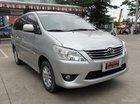 Mình cần bán Toyota Innova G đời 2013, màu bạc, 750 triệu