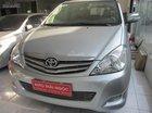 Toyotota Innova G 2010, mầu bạc, số tự động