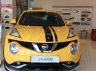 Nissan Juke CVT năm 2016, dòng xe thể thao, màu vàng, xe nhập nguyên chiếc từ Anh Quốc, có xe giao ngay