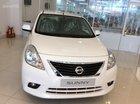 Bán xe Nissan Sunny XV SX đời 2017  màu trắng, có xe giao ngay, hỗ trợ 80% giá trị xe