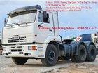 Bán xe đầu kéo Kamaz, 38 tấn, nhập khẩu, mới 100%