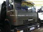 Bán xe Ben Kamaz, đời 2016,14 tấn, màu xanh quân đội, 3 chân, 2 cầu sau, nhập khẩu, mới