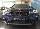 Cần bán xe BMW X1 sDrive 18i đời 2017, giá rẻ, màu xanh lam, xe nhập khẩu, mới