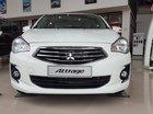 Mitsubishi Attrage CVT 2016, màu trắng, xe nhập, khuyến mại lớn trong tháng, giao xe ngay