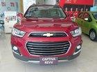 Bán ô tô Chevrolet Captiva LTZ đời 2016, màu đỏ, giá tốt