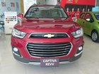 Cần bán Chevrolet Captiva Revv đời 2016, màu đỏ