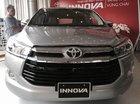 Toyota Innova 2.0 E 2016, màu bạc, chỉ với 160 triệu nhận xe ngay, hỗ trợ vay 85%, thủ tục đơn giản, giao xe ngay