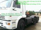 Bán đầu kéo Kamaz 65116, đời 2015,38 tấn, 2 cầu thực, 260 mã lực, 32l/100km, nhập nguyên chiếc